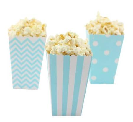 popcorntüten blau