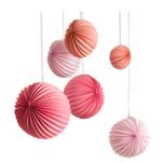 lampions rosa
