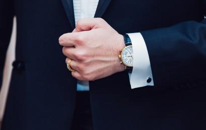 Manschettenknöpfe als Eyecatcher auf deiner Hochzeit