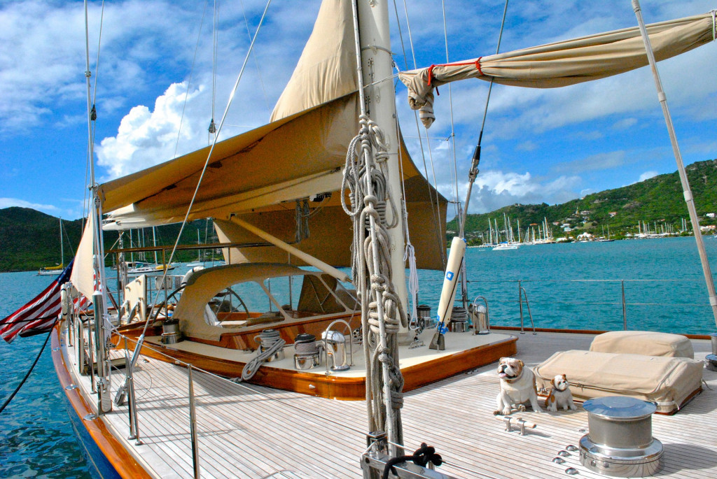karibik yacht hochzeitsreise